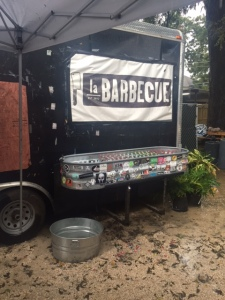 The La Barbecue truck